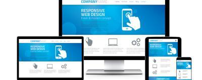 responsiv visning af web design
