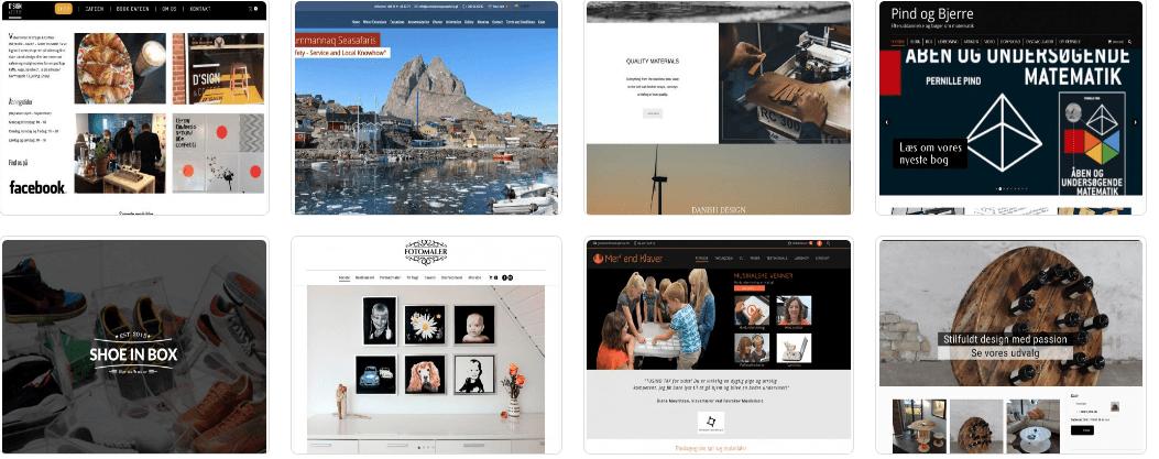 8 referencer af hjemmesider