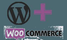 Woocommerce og wordpress logo