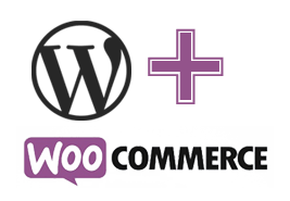 Woocommerce og wordpress logo