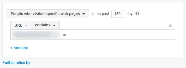 facebook annoncerings målgruppe besøgt hjemmeside