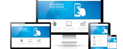 responsiv visning af web design ved hjemmeside pris