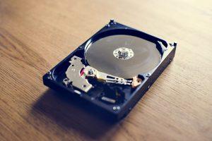 backup vedrørende disk